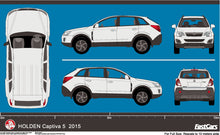 Load image into Gallery viewer, Holden Captiva 2015 Captiva 5