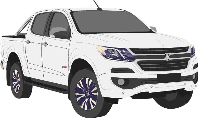 Holden Colorado 2017 Double Cab Pickup Ute