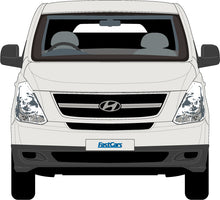 Load image into Gallery viewer, Hyundai iLoad 2010 Lift-Up Rear Door