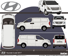 Load image into Gallery viewer, Hyundai iLoad 2017 Lift-Up Rear Door