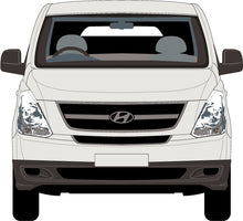 Load image into Gallery viewer, Hyundai iLoad 2015 Rear Barn Doors