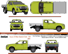 Load image into Gallery viewer, Isuzu D-Max 2021 Space Cab - Cab Chassis SX