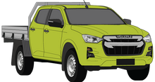 Load image into Gallery viewer, Isuzu D-Max 2021 Double Cab - Cab Chassis SX