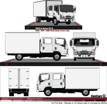 Load image into Gallery viewer, Isuzu N-Series 2018 Double Cab  NNR/NPR/NQR  Wide Body