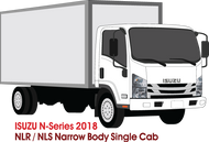 Isuzu N-Series 2018  - Single Cab -- NLR/NLS Narrow Body