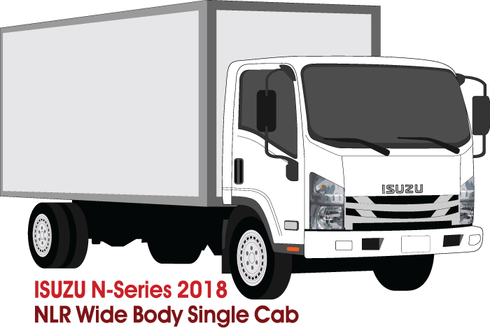 Isuzu N-Series 2018 Single Cab  NNR/NPR/NQR  Wide Body