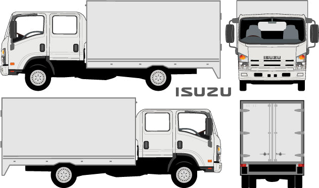Isuzu N-Series 2007 Double Cab