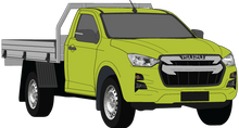 Load image into Gallery viewer, Isuzu D-Max 2021 Single Cab - Cab Chassis SX