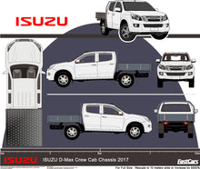 Load image into Gallery viewer, Isuzu D-Max 2017 Double Cab -- Cab Chassis