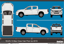 Load image into Gallery viewer, Isuzu D-Max 2015 Double Cab Pickup ute