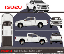 Load image into Gallery viewer, Isuzu D-Max 2017 Space Cab Pickup Ute