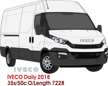 Load image into Gallery viewer, Iveco Daily 2018 LWB  35s/50c - overall length  7228