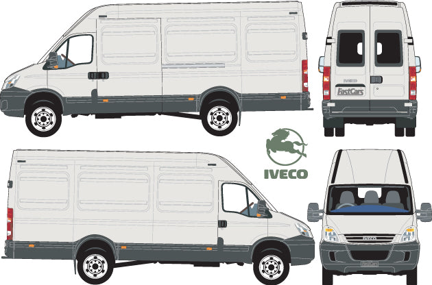 Iveco Daily 2007 LWB Van High Roof