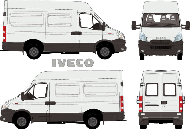 Iveco Daily 2014 LWB van -- High Roof