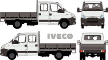 Load image into Gallery viewer, Iveco Daily 2014 -- Double Cab Chassis