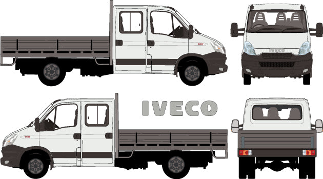 Iveco Daily 2014 -- Double Cab Chassis