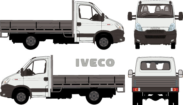 Iveco Daily 2014  -- Single Cab Chassis