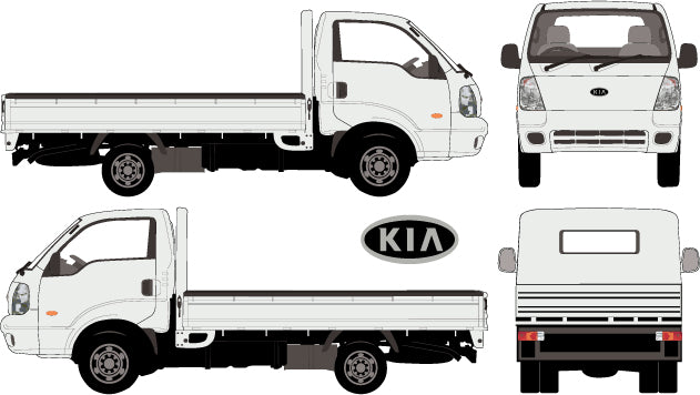 Kia K2900 2013 -- Single Cab Chassis