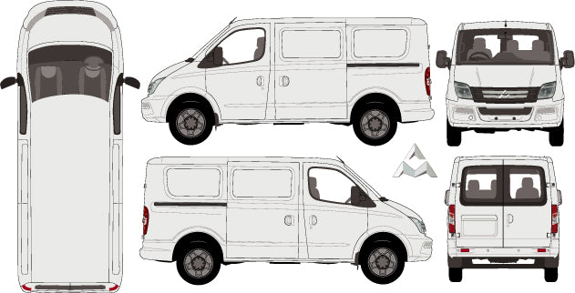 LDV  V80 2015 -- SWB van Low Roof