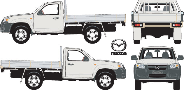 Mazda BT-50 2007 Single Cab Chassis