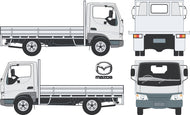 Mazda E2000 2004 Single Cab Chassis