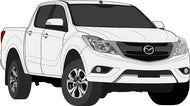 Mazda BT-50 2017 Double Cab -- Pickup Ute
