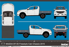 Load image into Gallery viewer, Mazda BT-50 2015 Extra Cab -- Cab Chassis