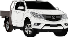 Load image into Gallery viewer, Mazda BT-50 2017  Extra Cab -- Cab Chassis