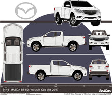 Load image into Gallery viewer, Mazda BT-50 2017 Extra Cab -- Pickup Ute