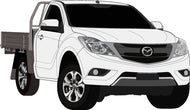 Mazda BT-50 2017 Single Cab Chassis