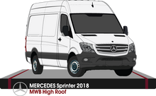 Load image into Gallery viewer, Mercedes Sprinter 2018 MWB - High Roof