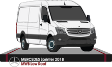Load image into Gallery viewer, Mercedes Sprinter 2018  MWB -- Low Roof