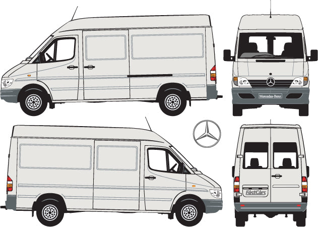 Mercedes Sprinter 2004 MWB Van -- High Roof