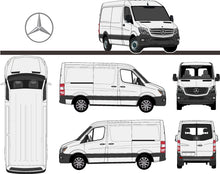 Load image into Gallery viewer, Mercedes Sprinter 2017 SWB Van -- Low Roof