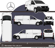 Load image into Gallery viewer, Mercedes Vito 2017 LWB van