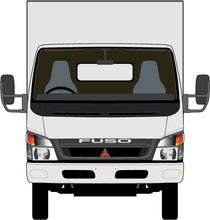 Load image into Gallery viewer, Mitsubishi Canter/Fuso 2010 Wide Body -- Box Rear