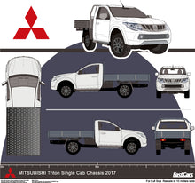 Load image into Gallery viewer, Mitsubishi Triton 2017 Single Cab Chassis