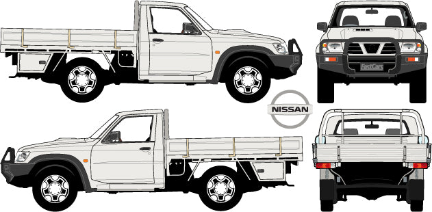 Nissan Patrol 2007 Single Cab Chassis