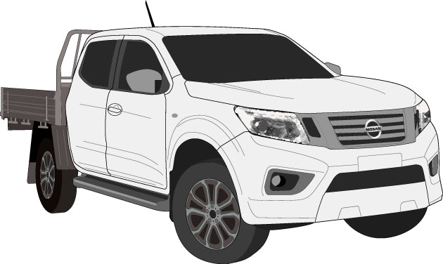 Nissan Navara 2017 Double Cab -- Cab Chassis