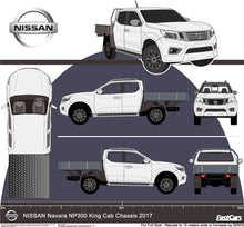 Load image into Gallery viewer, Nissan Navara 2017 Double Cab -- Cab Chassis