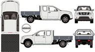 Nissan Navara 2015 King Cab -- Cab Chassis -Early 2015
