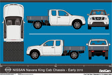Load image into Gallery viewer, Nissan Navara 2015 King Cab -- Cab Chassis -Early 2015
