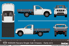 Load image into Gallery viewer, Nissan Navara 2015 Single Cab Chassis  - Early 2015