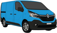 Load image into Gallery viewer, Renault Trafic 2021 LWB Black Trim Barn Doors