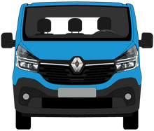 Load image into Gallery viewer, Renault Trafic 2021 SWB Black Trim Lift Up Tailgate