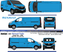 Load image into Gallery viewer, Renault Trafic 2021  LWB  Black Trim  LiftUp Tailgate