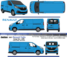 Load image into Gallery viewer, Renault Trafic 2021 LWB  Colour Coded  Barn Doors