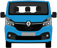 Load image into Gallery viewer, Renault Trafic 2021 LWB Colour Coded Lift Up Tailgate