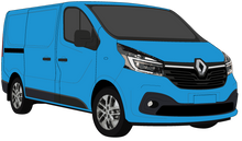 Load image into Gallery viewer, Renault Trafic 2021 SWB Colour Coded Barn Doors