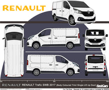Load image into Gallery viewer, Renault Trafic 2017 SWB van -- Lift up Tailgate -- Fully Colour Coded
